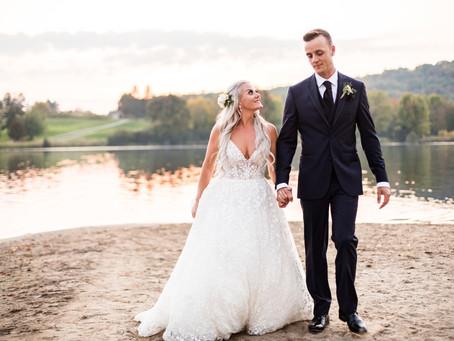 Ashley + Josh's Classic Rustic Wedding in Huntsville, Ontario!