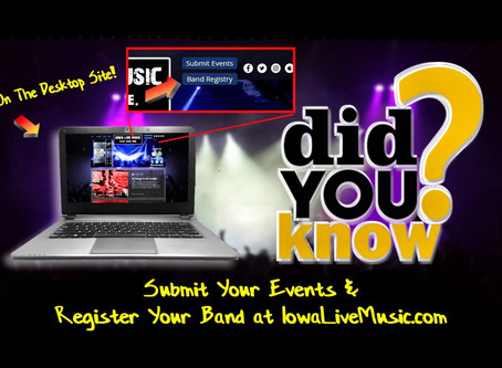 Register Your Band