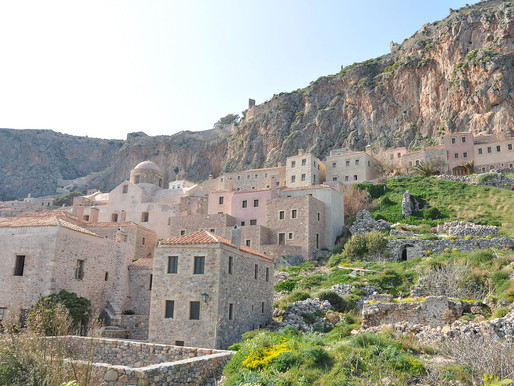 Monemvasia Architecture