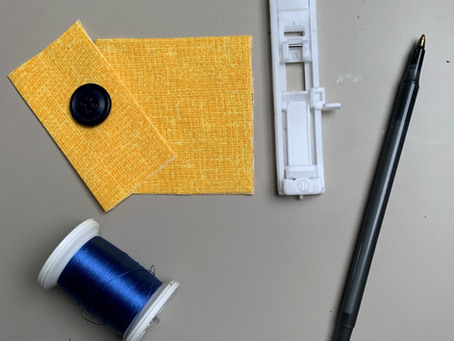 How to Sew a Button Closure