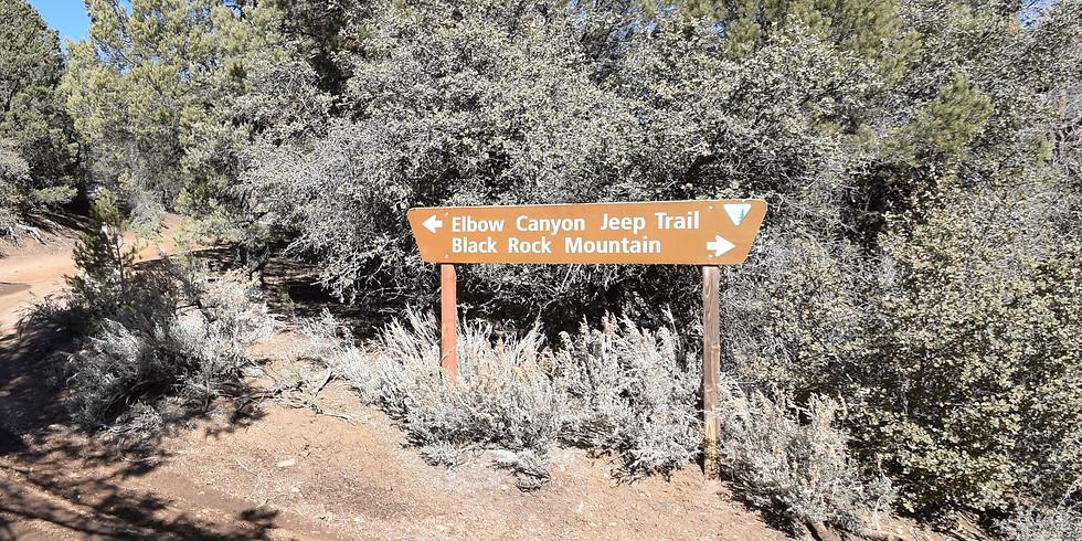 Elbow Canyon to Black Rock Mountain