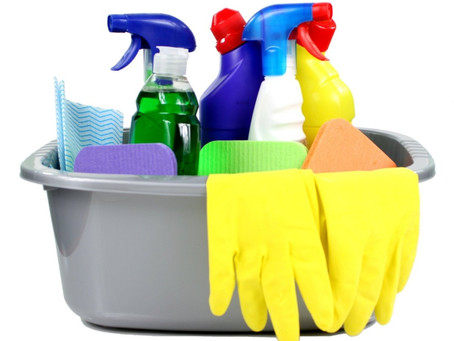 Should I mop and dust my home   differently during a viral outbreak?