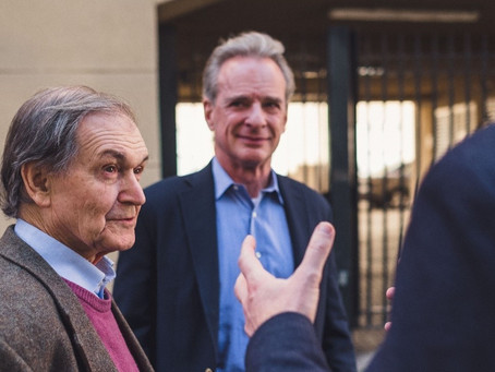 What's stopping Roger Penrose from believing that God created the Universe?