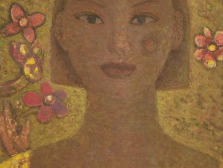 (Soil & art) woman, Portraits painted with soil