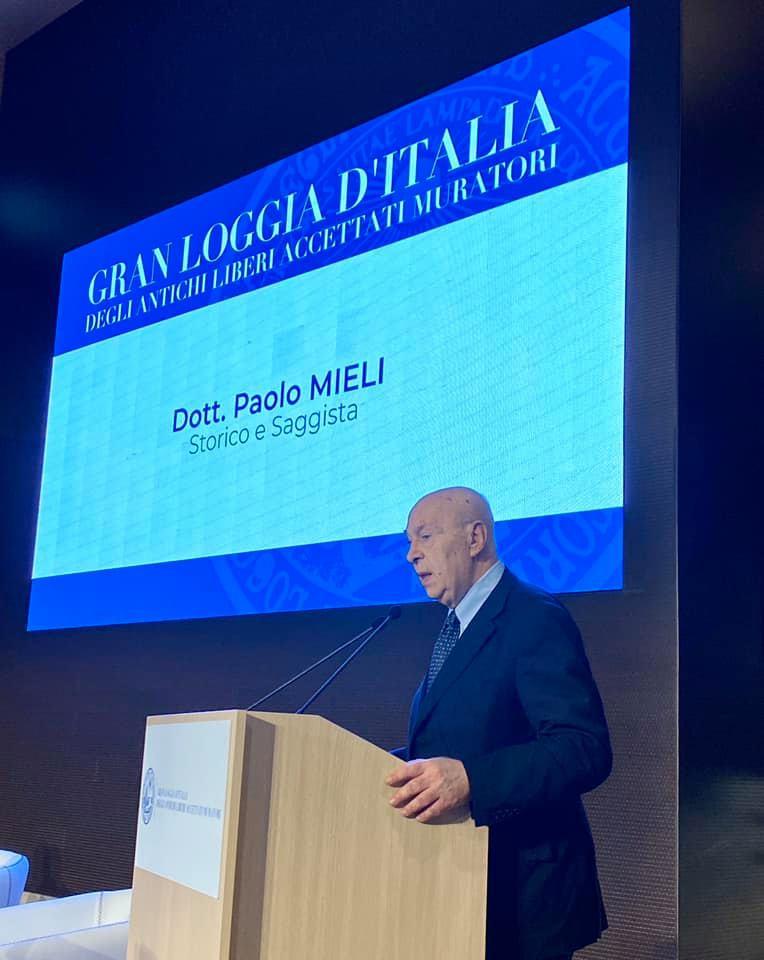 """Inizia l'evento """"Una notte per l'Europa""""   Gran Loggia d'Italia degli ALAM"""
