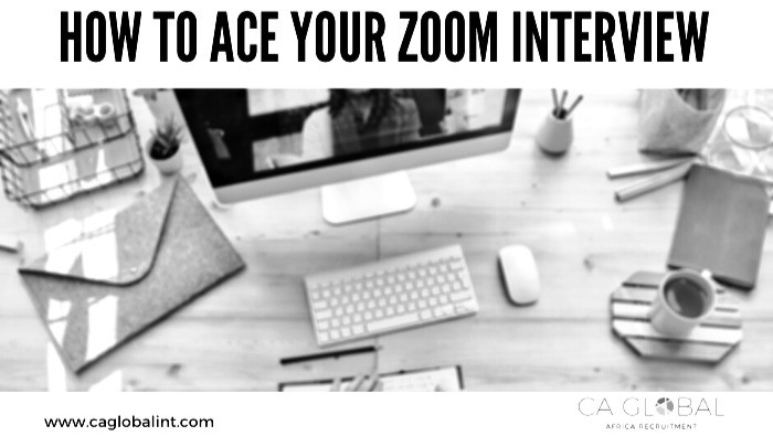 Ace your Zoom Interviews