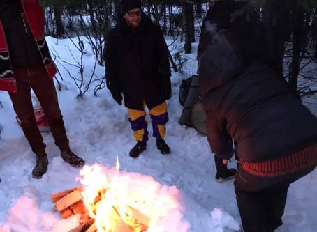 Vintersolverv på kraftsted nord i Oslo