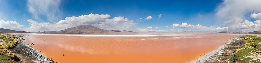 laguna colorada panoramique