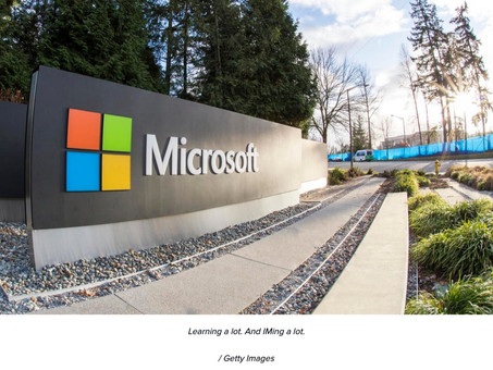 Microsoft told employees to work from home. One consequence was brutal