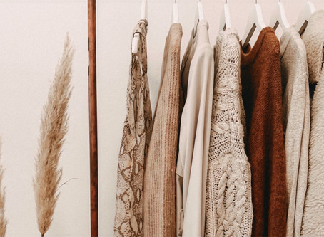 Five Intentions to Make Your Wardrobe More Sustainable