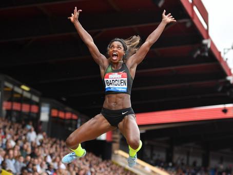 Caterine Ibargüen en lo más alto del atletismo mundial