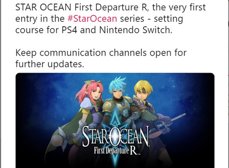 'STAR OCEAN First Departure R' Announced for Worldwide Release
