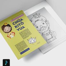 SÁCH TÔ MÀU CÔNG GIÁO - Catholic Coloring Book