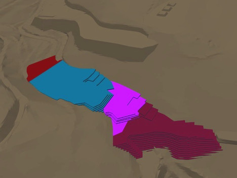 HLP Stacking as part of the Mine Plan