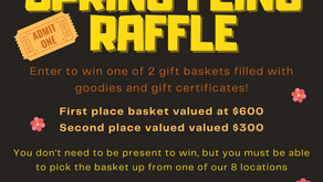 Spring Fling Raffle Baskets!