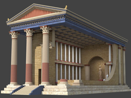 Digital Archeology and Restoration of Ancient Greece in Augmenteted Reality.