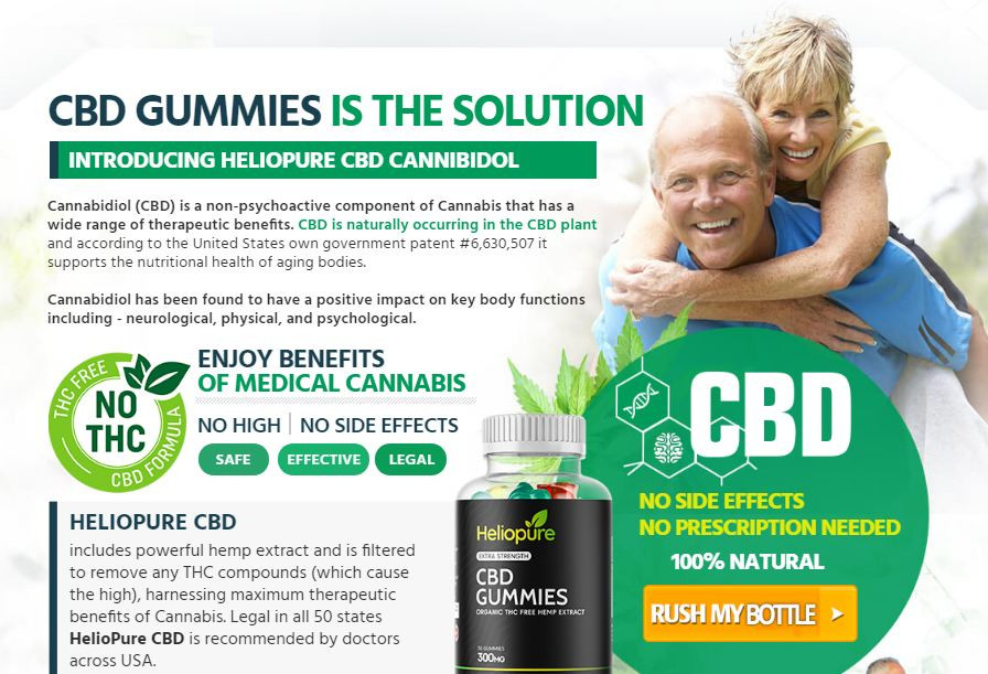Pros and Cons of HelioPure CBD [Gummies Official Site] | IBSformation.com
