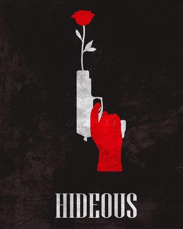 Hideous short film poster