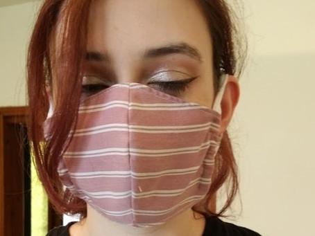 Making their own masks