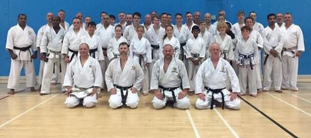 JKS Brown & Black Belt Course with Sensei Alan Campbell 7th Dan Sunday 2nd September 2018