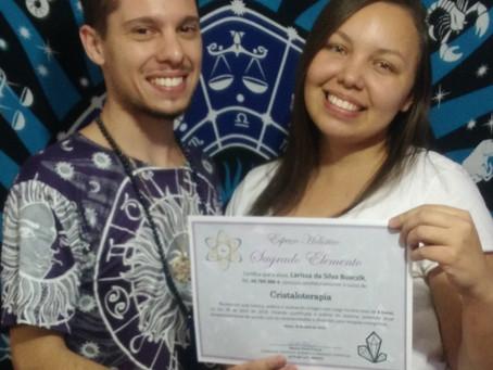 Certificação do Curso de Cristaloterapia em Mauá