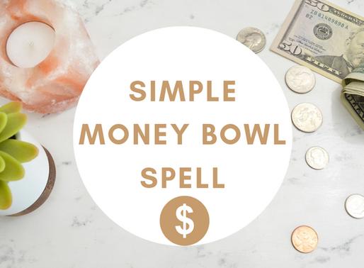 Money Bowl Spell For Good Financial Flow