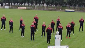 Neue Trainingsanzüge für die D-Junioren