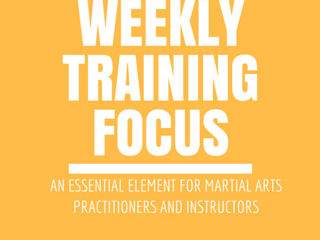 Weekly Training Focus