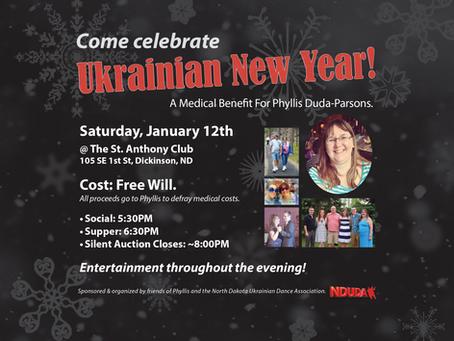 Come Celebrate Ukrainian New Years!