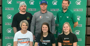 Board signs with Georgetown College, Johnston signs with Brescia