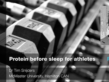 Protein and sleep: Part 1