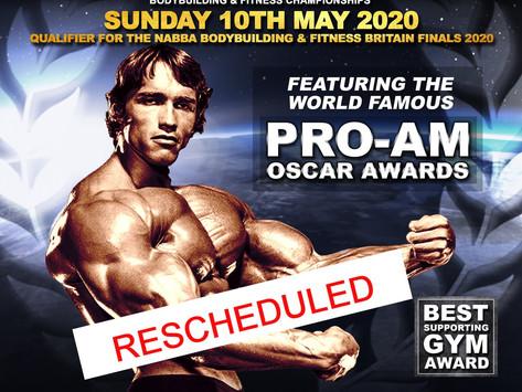 NABBA Midlands 2020 Poster