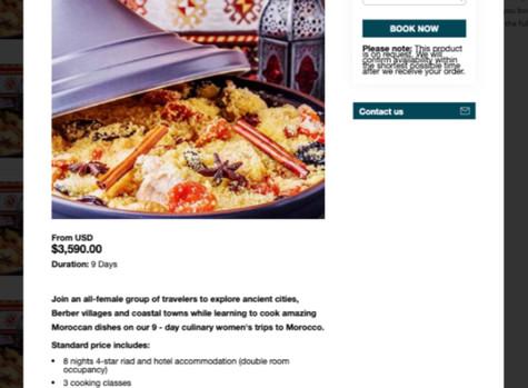 Moroccan Cuisine for Women Travelers