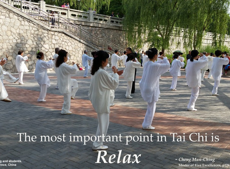 The most important point in Tai Chi.....