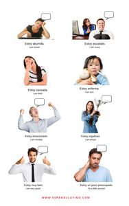 Spanish Greetings Emotions