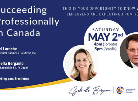 Succeeding Professionally in Canada - Online Event with Lionel Laroche