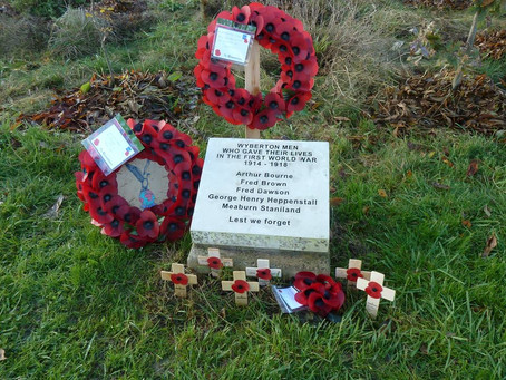 Remembrance Service at Jenny's Wood