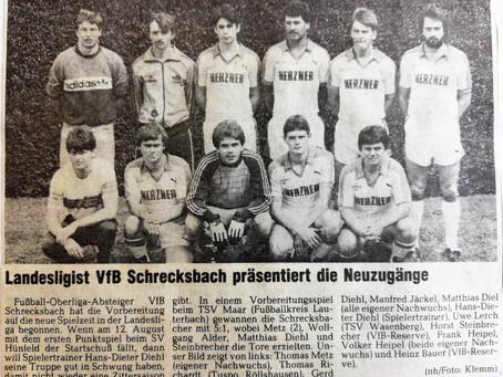 Verbandsliga-Derby steht im Blickpunkt – Absteiger VfB prüft Aufsteiger SC Neukirchen