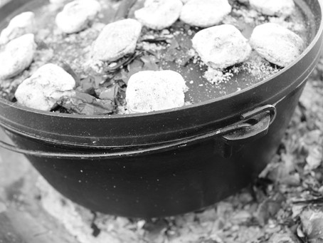 Cast Iron Lodge Pot Cooking