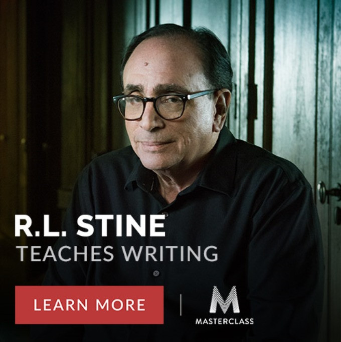 R.L Stine MasterClass, Teaches Writing