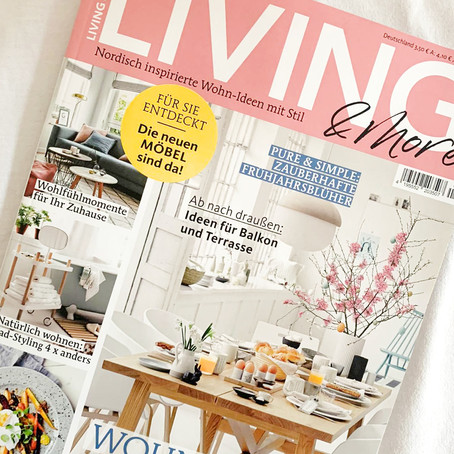 Feature im Living & More Magazin