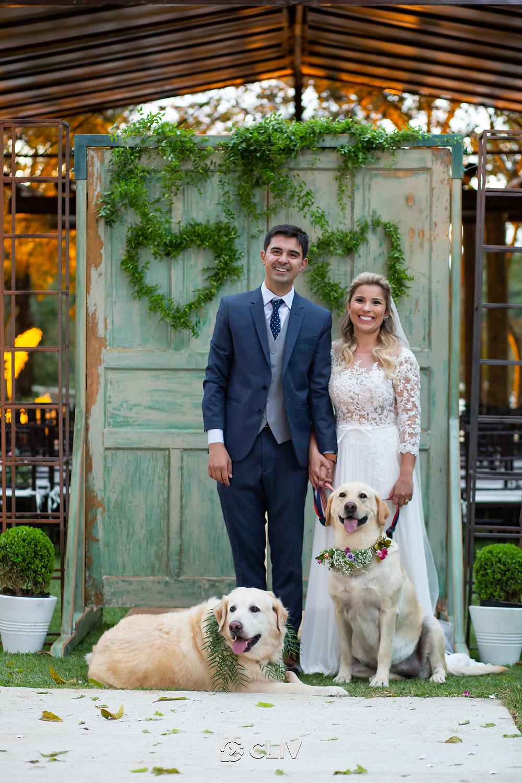 wedding, dog, door, green venue