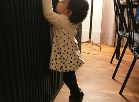Zapatos para bebés que están dando sus primeros pasos