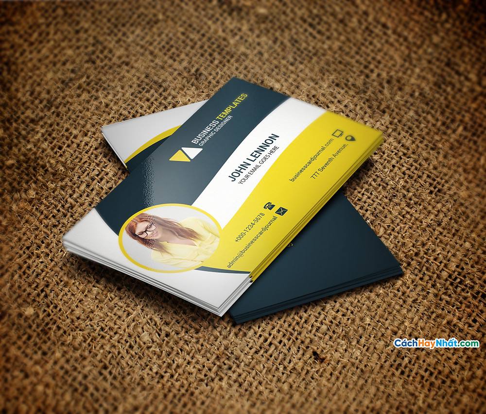File Business Cards Templates Photoshop