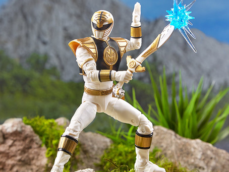 Hasbro's Lightning Collection Collector's Power Ranger line has been revealed!