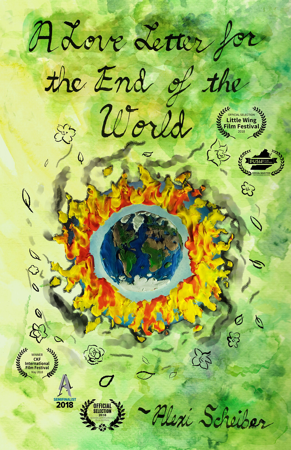 A Love Letter for the End of the World short film poster