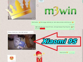 M3win May Lucky Draw - Xiaomi 9S Phone (3)