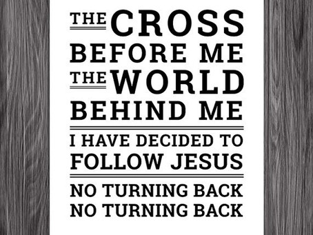 The true story behind the song 'I have decided to follow Jesus'