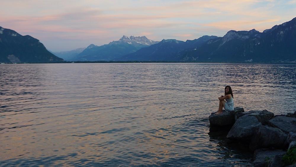 Sofia Poni - lake
