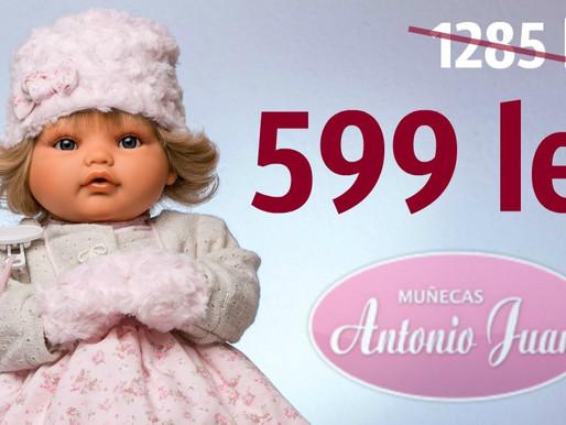 СКИДКИ до -55% на испанские куклы Antonio Juan! Цены от 399 лей! +Описание